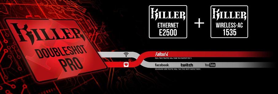 Killer E2500 Gigabit Ethernet