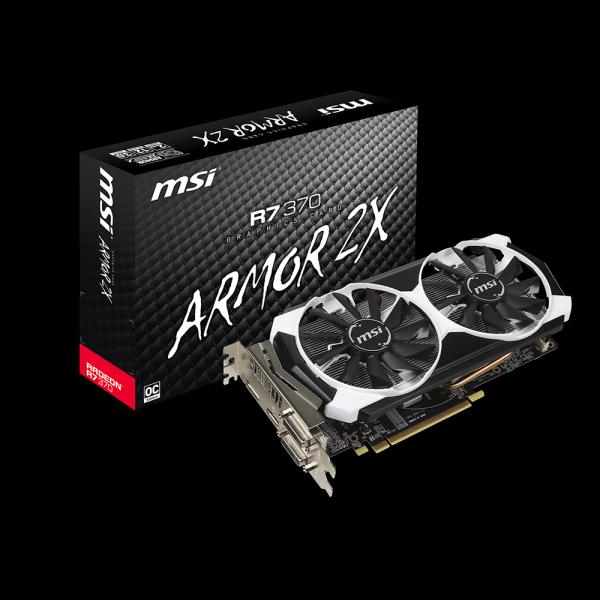 MSI R7 370 2GD5T OC стоимость