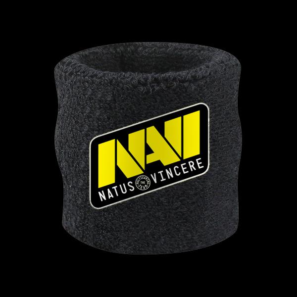 NaVi Wrist Sweatband Black купить