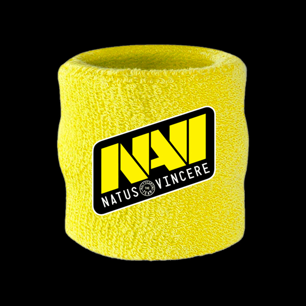 NaVi Wrist Sweatband Yellow купить