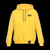 Hoodie NaVi x Litkovskaya Yellow L/XL