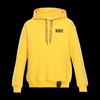 Hoodie NaVi x Litkovskaya Yellow S/M