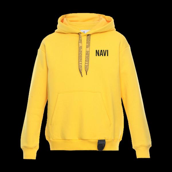 Hoodie NaVi x Litkovskaya Yellow S/M купить