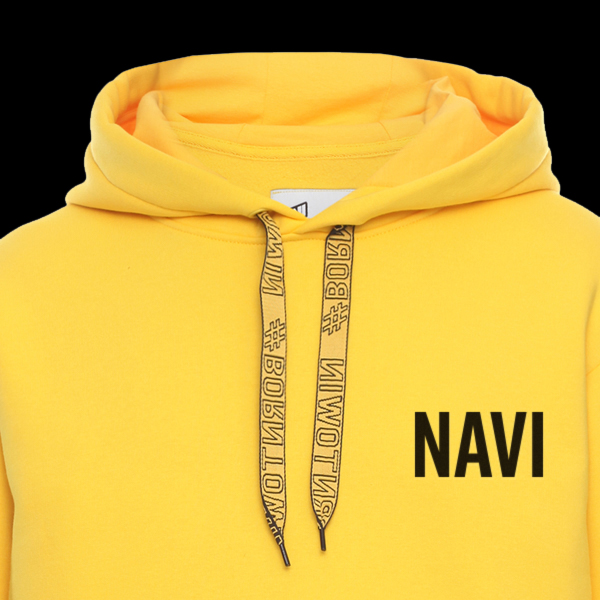 Hoodie NaVi x Litkovskaya Yellow S/M стоимость