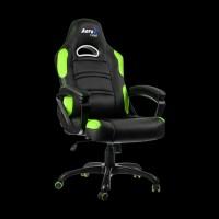 AeroCool C80 Comfort Gaming Chair (Black/Green)