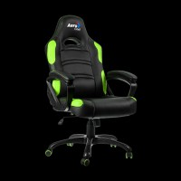 AeroCool C80 Comfort Gaming Chair (Black/Green)