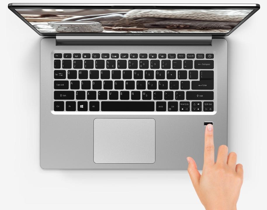 Датчик отпечатка пальца в ноутбуке acer