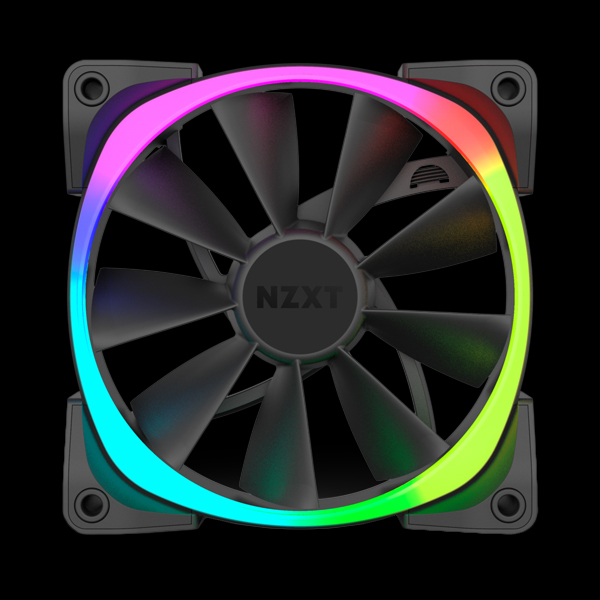 NZXT Aer RGB 140mm (3-Pack) (RF-AR140-T1) цена