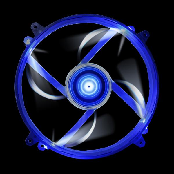 NZXT FZ 200mm LED Airflow Fan Series Blue (RF-FZ20S-U1) купить