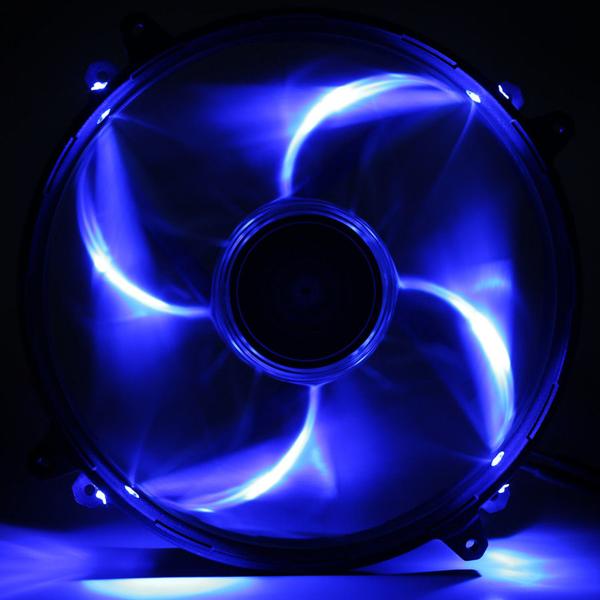NZXT FZ 200mm LED Airflow Fan Series Blue (RF-FZ20S-U1) фото