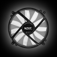NZXT FZ 200mm LED Airflow Fan Series Red (RF-FZ20S-R1)