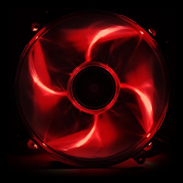 NZXT FZ 200mm LED Airflow Fan Series Red (RF-FZ20S-R1) купить
