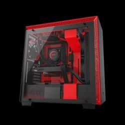 NZXT H700i Matte Black/Red (CA-H700W-BR)