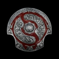 Aegis of Champions Dota 2 Silver/Red
