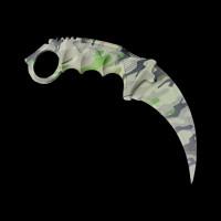 CS:GO Karambit Green Camo