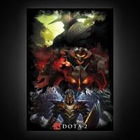 Постер Dota 2 формат A2