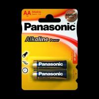 Батарейки Panasonic ALKALINE POWER AA BLI 2