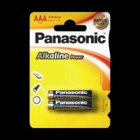 Батарейки Panasonic ALKALINE POWER AAA BLI 2