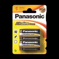 Батарейки Panasonic ALKALINE POWER C BLI 2