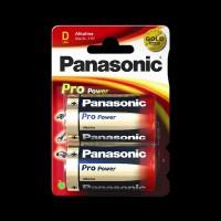 Батарейки Panasonic ALKALINE POWER D BLI 2