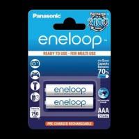 Panasonic Eneloop AAA 750 2BP mAh NI-MH