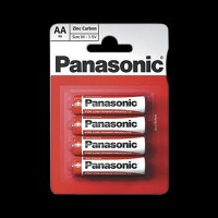 Батарейки Panasonic RED ZINK R6 BLI 4 ZINK-CARBON