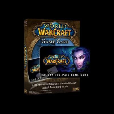 World of Warcraft Карта оплаты 60 дней купить