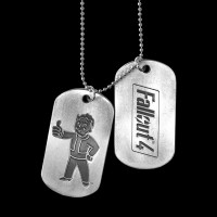 Fallout 4 - Pair of Dogtags (JE270801FOT)