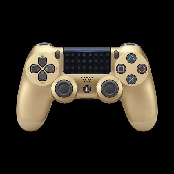 PlayStation 4 Dualshock 4 v2 Wireless Controller Gold фото