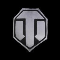 World of Tanks Logo Grey/Black (WG043334)