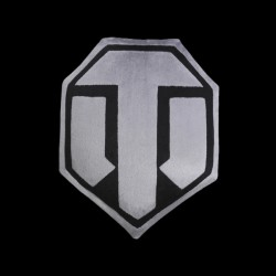 World of Tanks Logo Grey/Black (WG043334)