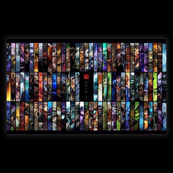 DotA 2 All hero (91x61) купить