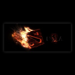 DotA 2 In Fire