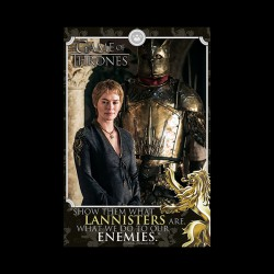 GAME OF THRONES (CERSEI - ENEMIES) MAXI POSTER