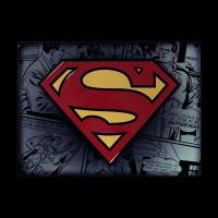 Металлическая картина ABYstyle DC Comics Superman (28x38) (ABYPLA013)