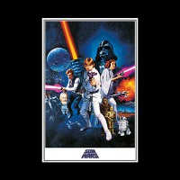 STAR WARS - A NEW HOPE (ONE SHEET)