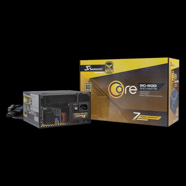 Seasonic 500W Core Gold GC-500 (SSR-500LC) фото