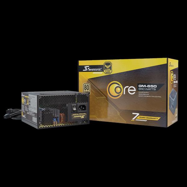 Seasonic 650W Core Gold GM-650 (SSR-650LM) фото