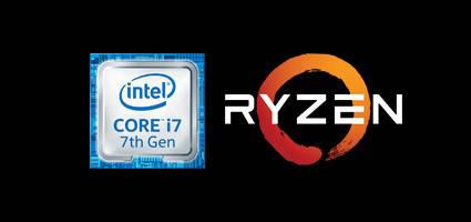 Лого AMD, INTEL