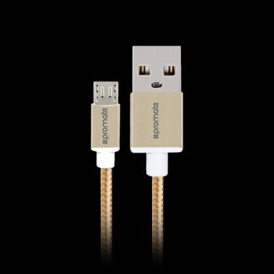 Promate USB-microUSB 1.5m (linkmate-u2m.gold) купить