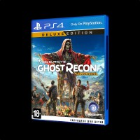 Tom Clancy's Ghost Recon: Wildlands. Deluxe Edition PS4