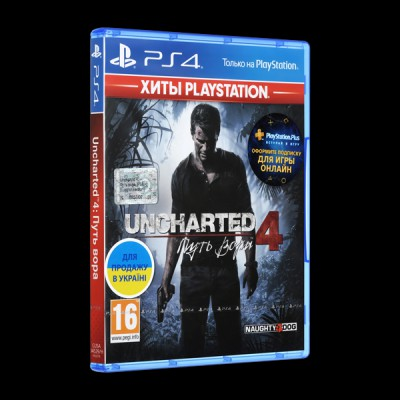 Uncharted 4: Путь вора PS4