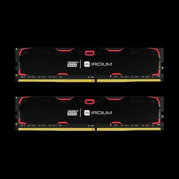 GOODRAM DDR4 (2x8GB) 2133 MHz Iridium Black (IR-2133D464L15S/16GDC) купить