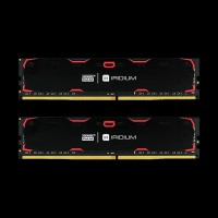 GOODRAM DDR4 (2x8GB) 2400 MHz Iridium Black (IR-2400D464L15S/16GDC)