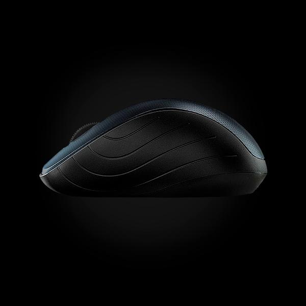 Rapoo Wireless Optical Mouse 3000p Blue цена