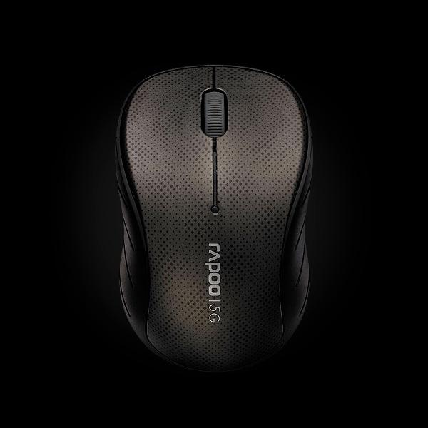 Rapoo Wireless Optical Mouse 3000p Gray купить