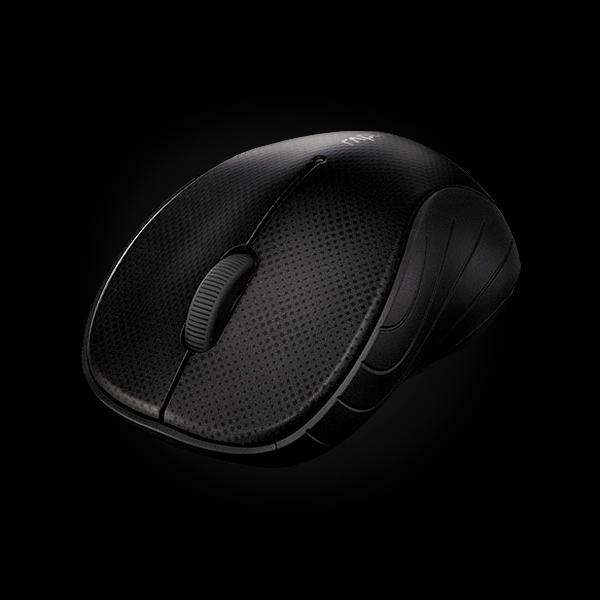 Rapoo Wireless Optical Mouse 3000p Gray фото