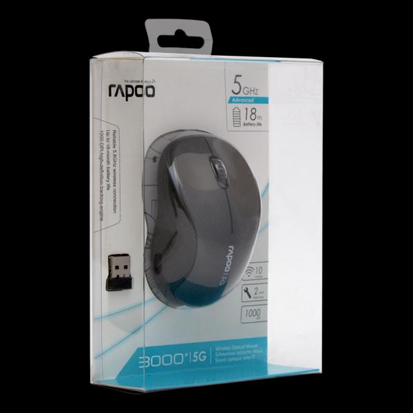 Rapoo Wireless Optical Mouse 3000p Gray стоимость
