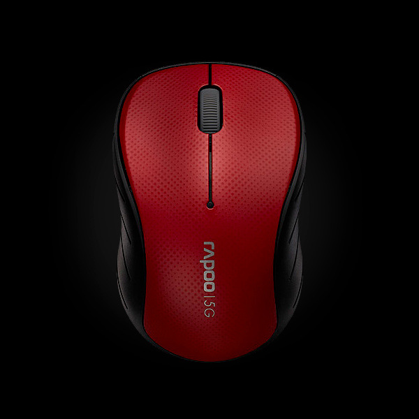 Rapoo Wireless Optical Mouse 3000p Red фото