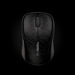 Rapoo Wireless Optical Mouse 3100p Black